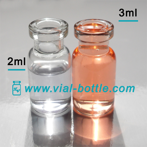 2ml Serum Glass Vials For Use With The Pharmaceutical